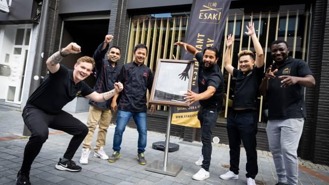 Esaki stelt sushirestaurant in Genk vanaf woensdag open