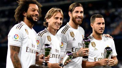 """'Beste Kroatische voetballer ooit' Luka Modric over Hazard: """"We hebben Eden nodig, maar hij moet echt fit zijn"""""""