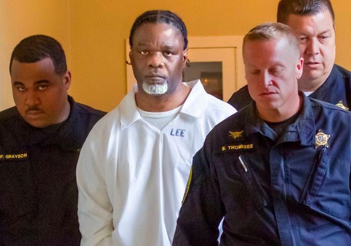 Ledell Lee, enkele dagen voor zijn executie.