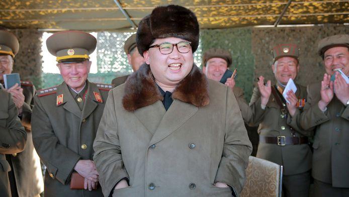 Kim Jong Un, leader suprême de la Corée du Nord.