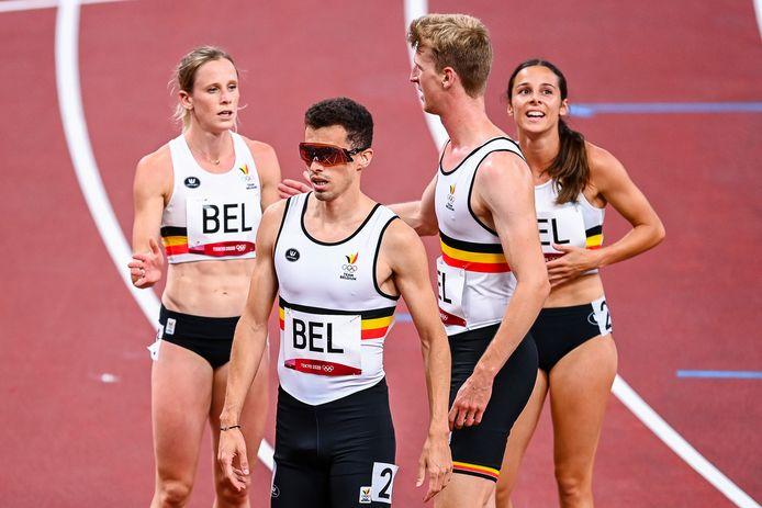 Alexander Doom, Imke Vervaet, Camille Laus en Jonathan Borlée stootten eerder vandaag door met een Belgisch record. Kunnen ze zaterdag een medaille pakken?