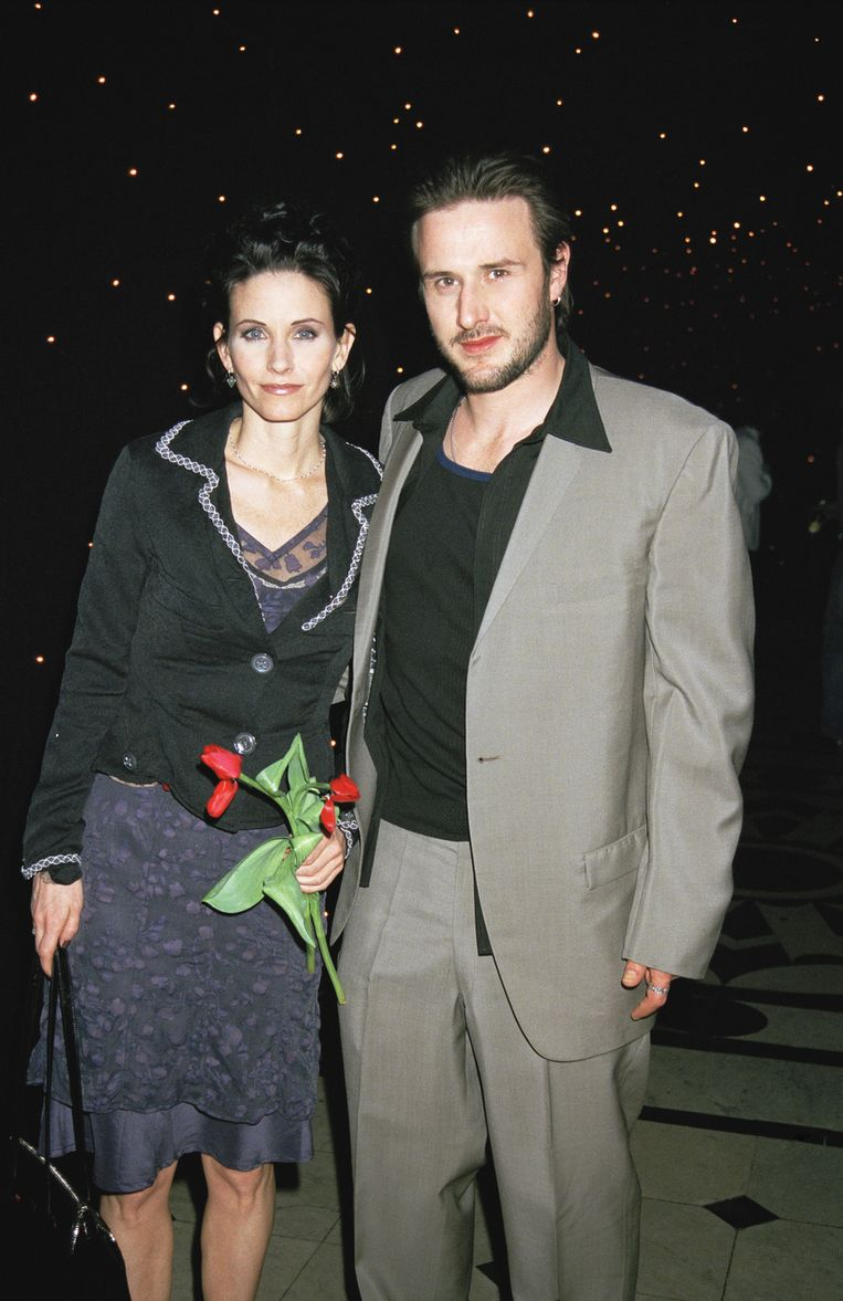 Courteney en David in 1998. Beeld UNKNOWN