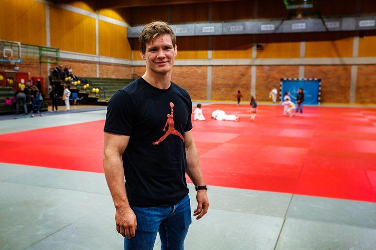Europees kampioen judo Matthias Casse.