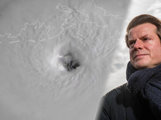 """David Dehenauw over orkaan Ida: """"Komende 48 uur valt er dubbel zoveel regen in Louisiana als destijds in Pepinster"""""""