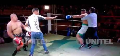 'Kopschop-incident': boksicoon Saul Farah zwaar mishandeld door debutant