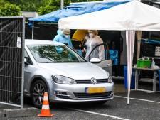 Teststraat Alphen langer open vanwege drukte