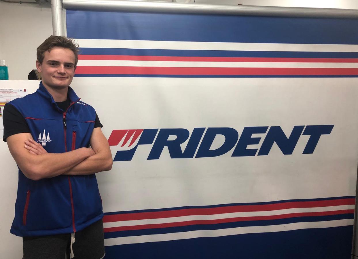 Bent Viscaal gaat bij het team van Trident testen in de Formule 2.
