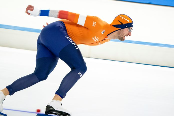 24-01-2021: Schaatsen: ISU World Cup 1: Heerenveen Thomas Krol from the Netherlands