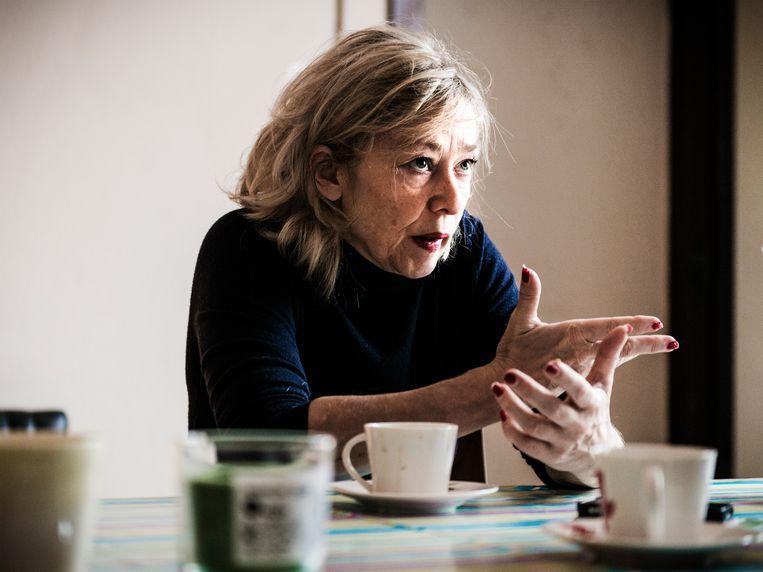 Historica Sophie De Schaepdrijver. Beeld Geert Braekers