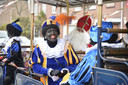 Illegale intocht Sinterklaas in Tuinzigt.