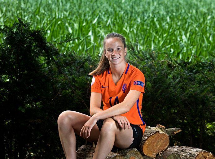 Eva van Deursen uit Veldhoven gaat in Amerika voetballen