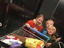 Belgisch gezin schenkt minuut gratis winkelen aan daklozen