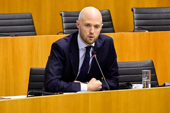 Brussels parlementslid David Leisterh (MR).