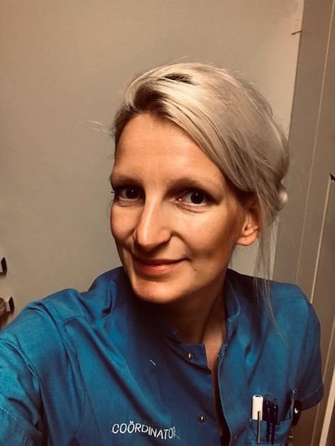 Deze foto plaatste verpleegkundige Rebecca bij haar bericht op Facebook