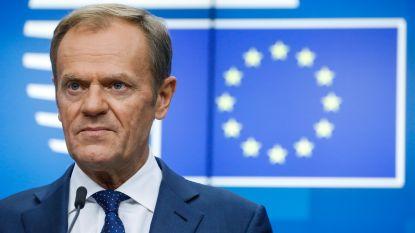"""Tusk ziet """"beloftevolle signalen"""" over mogelijke brexitdeal met Johnson, ultieme onderhandelingen van start"""