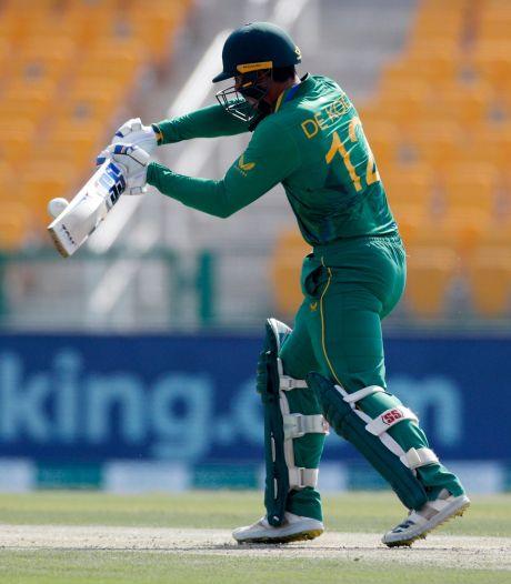 Zuid-Afrikaanse cricketer weigert te knielen en komt niet opdagen bij WK-duel