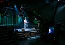 GroenLinks-leider speechte in een lege Melkweg in Amsterdam