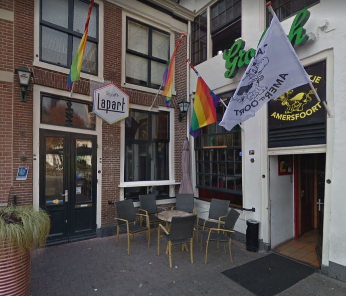 Gaycafé Lapart op de Hof.