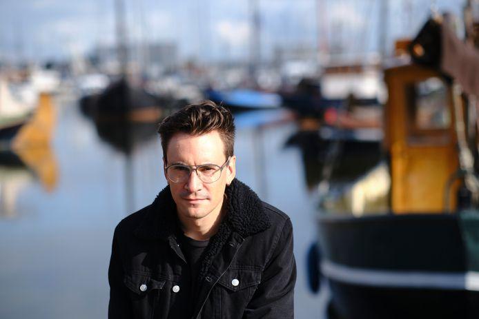 Urk, 29 september 2020. Matthias Declercq, journalist en schrijver.