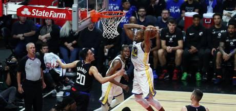 Warriors weer op voorsprong in play-offs