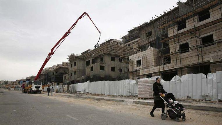 De nederzetting Beitar Ilit, bij Bethlehem, op een foto van december vorig jaar. Beeld reuters