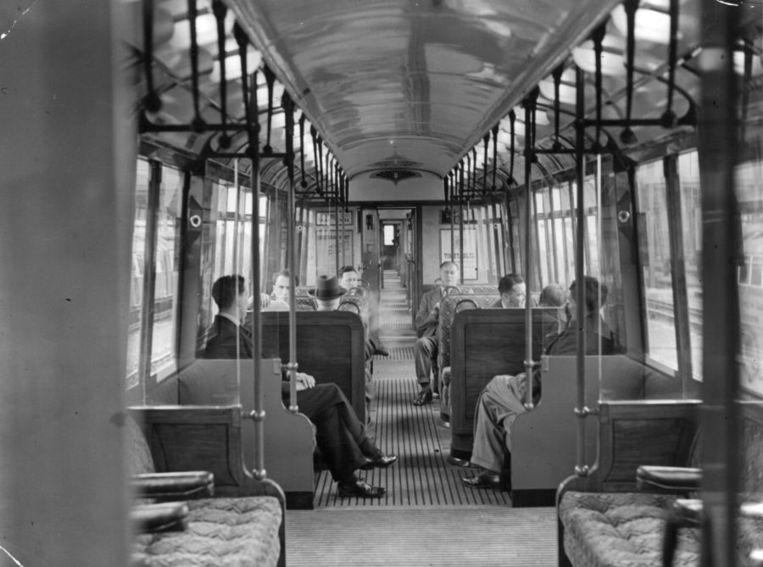De Metropolitan Line is de oudste metrolijn ter wereld. Beeld getty
