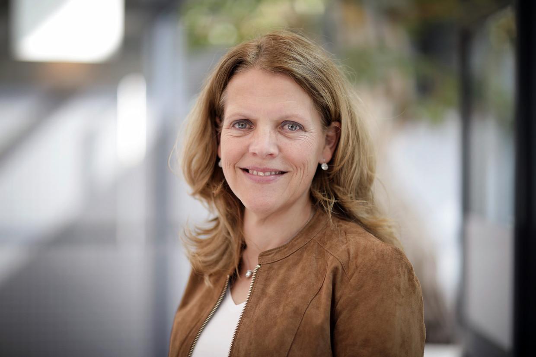 Hanneke Schuitemaker van Janssen Vaccines. Beeld Hollandse Hoogte / AFP