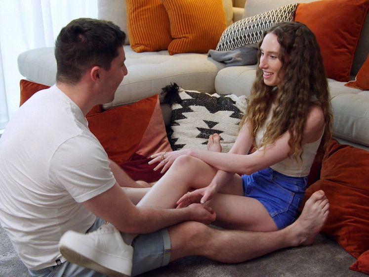 Intimiteitsweek zorgt voor gênante momenten in 'Blind Getrouwd Australië'
