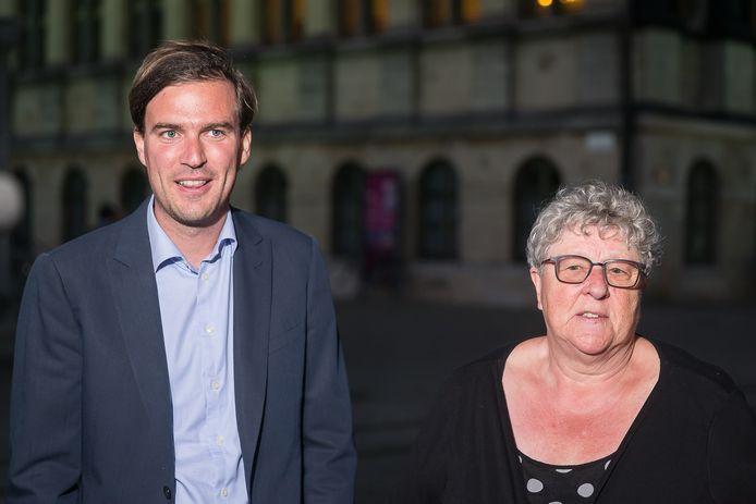 Mathias De Clercq klikte zich vast aan de CD&V van Mieke Van Hecke.