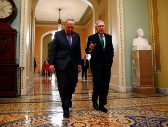 Republikein McConnell en Democraat Schumer verder als leiders in Senaat VS