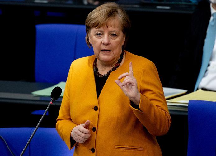 Huidig bondskanselier Angela Merkel.