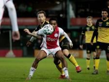 Jong Ajax klimt na zege op Roda naar tweede plaats