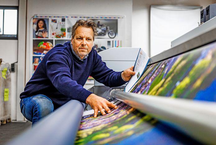 Michael van de Zee van NonStop Printing.
