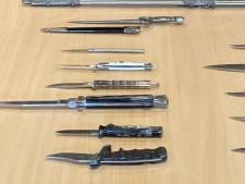 Straffeloos je mes in de ton gooien op politiebureaus in Sprang-Capelle en Nieuwendijk; gemeenten haken in op inleveractie