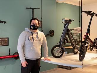 Jaime (26) opent nieuwe winkel in Gent waar je elektrische skateboards, steps, scooters en fietsen kan kopen