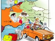 De coronahobbels onderweg naar je vakantieadres in het zonnige zuiden