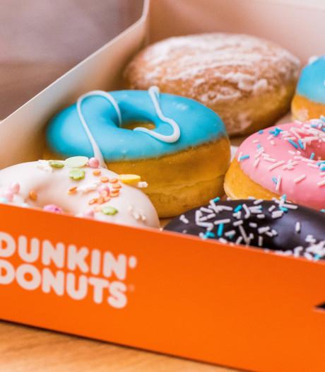Dunkin' Donuts opent winkel in Roosendaal