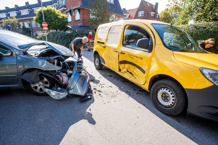 Een ongeval in de wijk Oog in Al