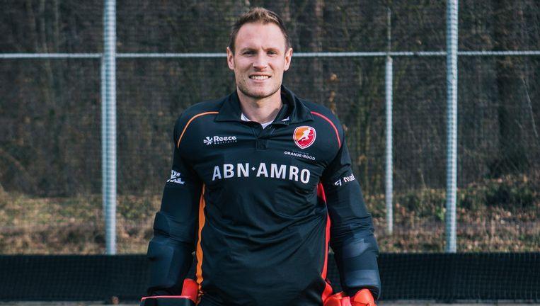 Pirmin Blaak: 'Ik ben lang genoeg tweede keeper geweest bij het Nederlandse team. Nu wil ik laten zien dat ik de beste ben.' Beeld Marcel Wogram