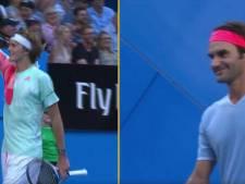 L'immense geste de sportivité de Federer