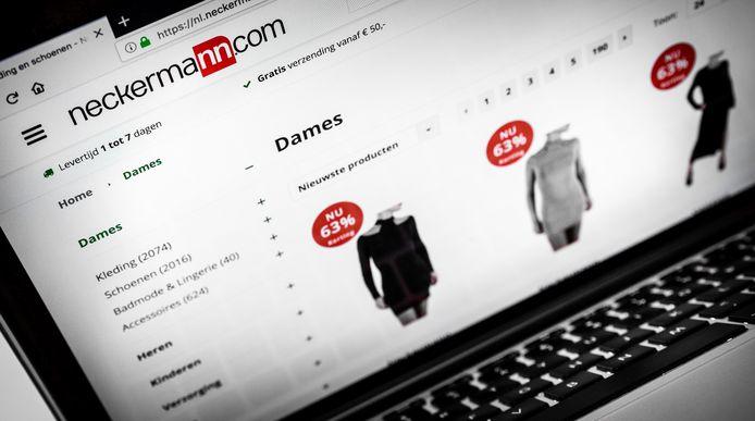 De webwinkel van Neckermann.com (niet te verwarren met de gelijknamige reisorganisatie).