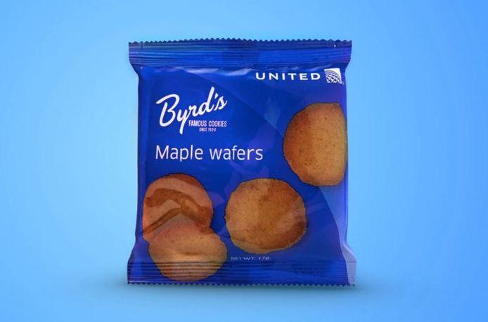 De nieuwe snack van Unites Airlines.