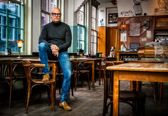 Andries Schilten in Centre Ville: ,,Het is een druppel op de gloeiende plaat.''