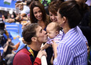 Michael Phelps en famille.