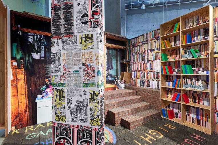 'Het ontwerp van het sociale' in Het Nieuwe Instituut. Beeld Aad Hoogendoorn