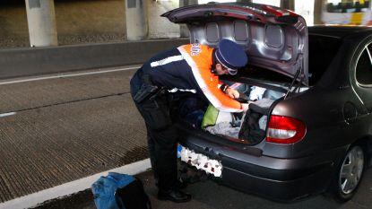 Politie neemt wagen in beslag