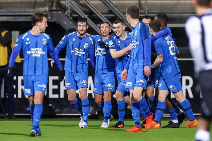 De sfeer in de selectie van Vitesse is vanzelfsprekend goed, nu de club in de top van de eredivisie bivakkeert.