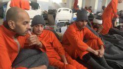 """Op bezoek bij drie Belgische IS-strijders in Koerdische gevangenis: """"Wat denkt de wereld van ons?"""""""