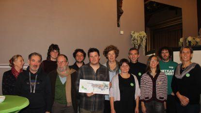 Celestin Brewaeys wint de Groene Pluim van Groen Horebeke