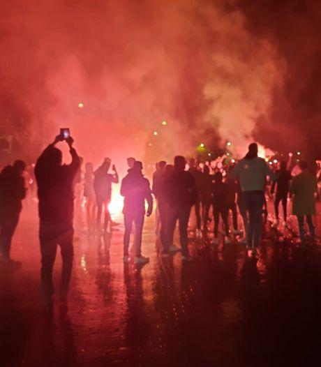 Rustiger in centrum Deventer na promotie Go Ahead Eagles, ME moest ingrijpen